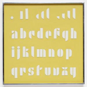 Joseph Albers Lettering. Pinterest