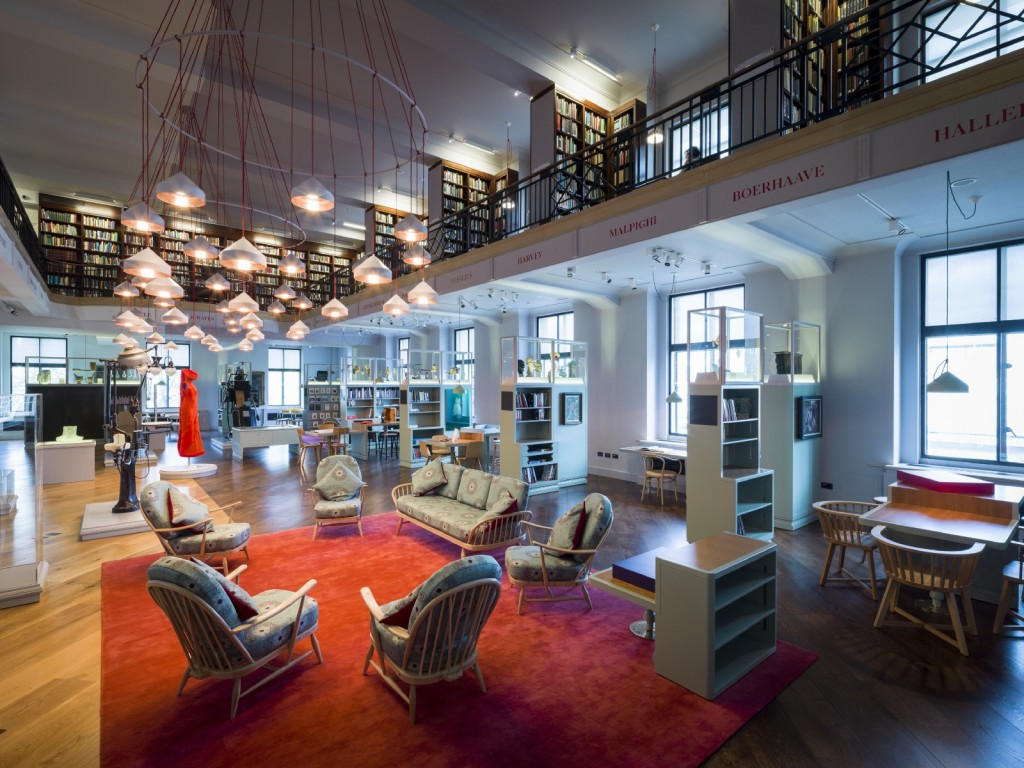The Reading Room at Wellcome Library. Source: Wellcome Collection